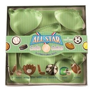 Fox Run All Star Cookie Cutter Set