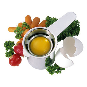Egg Separator with Receptacle