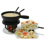 Swissmar Alpenglow 3 in 1 Electric Fondue Set