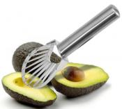 Danesco Stainless Steel Avocado Slicer