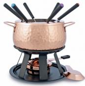 Swissmar Biel 11-pc Copper Meat Fondue Set