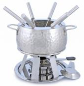 Swissmar Bienne 11-pc Stainless Steel Meat Fondue Set