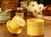 Butter Bell Antique Goldenrod Butter Crock