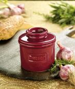 Butter Bell Café Crimson Red Butter Crock