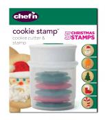 Chef'n Christmas Cookie Stamp and Cutter Set