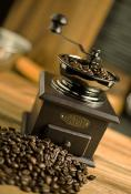 Fox Run Manual Adjustable Brown Coffee Grinder