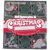Mini Christmas Cookie Cutter Set - 9pc