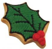 "Fox Run 3"" Holly Leaf Cookie Cutter"