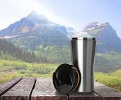 Prepara Double Walled Stainless Steel Travel Mug
