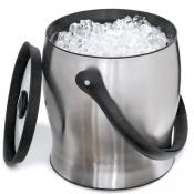 Metrokane Rabbit Double Walled Stainless Steel Ice Bucket