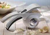 Rotary 2 in 1 Grater - White