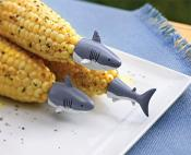 Outset Set of 8 Shark Corn Holders