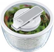 Zyliss Smart Touch White Salad Spinner