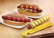 Outset Set of 2 Hot Dog & Wiener Spiral Cutters