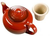 Teapot with Infuser Cherry