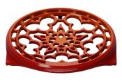 Le Creuset Flame Deluxe Round Trivet