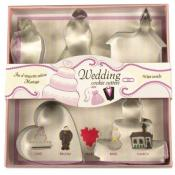 Fox Run Wedding Cookie Cutter Set