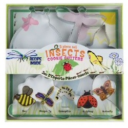 Fox Run Insect Cookie Cutter Set 1