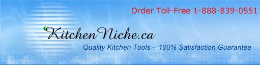 KitchenNiche.ca All Products Page - View all items in alphabetical order