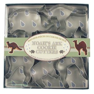 Fox Run Noah's Ark Cookie Cutter Set