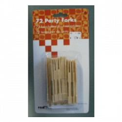 Bamboo Party Forks Set of 72 - Fox Run 1