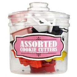 Assorted Cookie Cutter Set with Jar by Fox Run 1