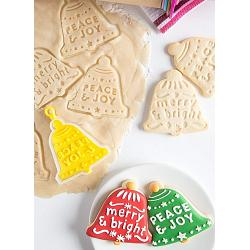 Bakelicious Christmas Bell Flip & Stamp Cookie Cutter 1