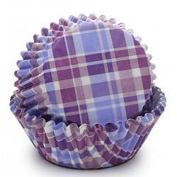 Fox Run Purple Madras Baking Cup Set of 50 1