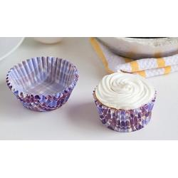 Fox Run Purple Madras Baking Cup Set of 50 2