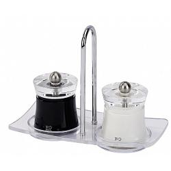 Peugeot Bali Salt & Pepper Mill Set with Tray 1