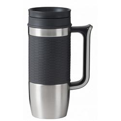 "Travel Mug ""Boardroom\"" by Trudeau - Brown 1"
