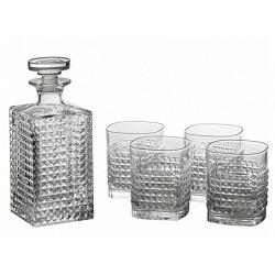 Luigi Bormioli Rocco Elixir Crystal Glass Whisky Set of 6 1