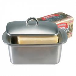 Danesco 1lbs Double Walled Stainless Steel Butter Box 1