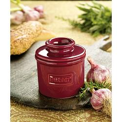 Butter Bell Café Crimson Red Butter Crock 1