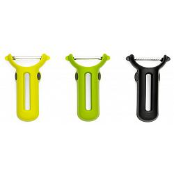 Chef\'n Stack & Peel Peeler Set of 3 1