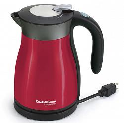 Chef\'s Choice 692 Red KeepHot Electric Kettle 1