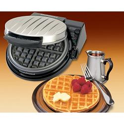 Chef\'s Choice 830BSE Waffle Pro Classic Belgian Waffle Maker 1