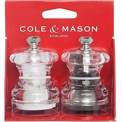 Cole & Mason Button Salt & Pepper Mill Set 1