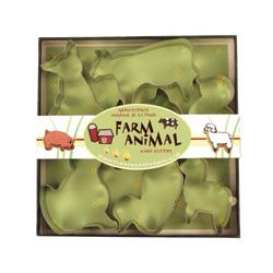 Fox Run Farm Animal Cookie Cutter Set 1