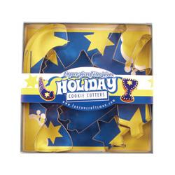 Fox Run Holiday Cookie Cutter Set 1