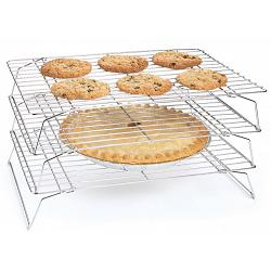 Fox Run Stackable Cooling Rack Set of 3 1