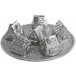Nordic Ware Cozy Village Cake Pan 1