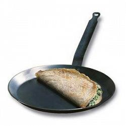 "De Buyer 7"" Blue Steel Crepe Pan 1"