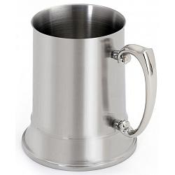 Cuisinox Double Walled Satin Stainless Steel Beer Stein 1