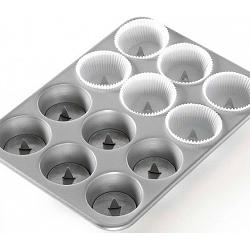 Nordic Ware Set of 12 Hidden Surprise Cupcake Posts 1