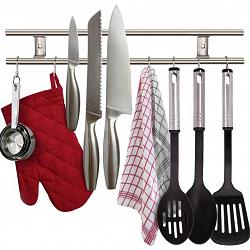 Danesco Magnetic Knife & Utensil Rack 1