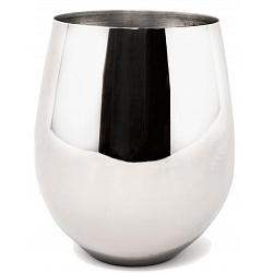 Danesco Stainless Steel Stemless Wine Goblet / Glass 1