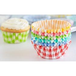 Fox Run Gingham Baking Cup Set of 300 2