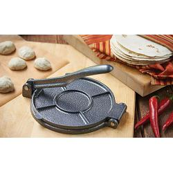 "Fox Run Cast Iron 7.5"" Tortilla Press 1"