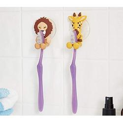 Fox Run Lion & Giraffe Toothbrush Holders 1